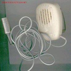 Radios antiguas: MICRÓFONO COLOR CREMA. Lote 27360905