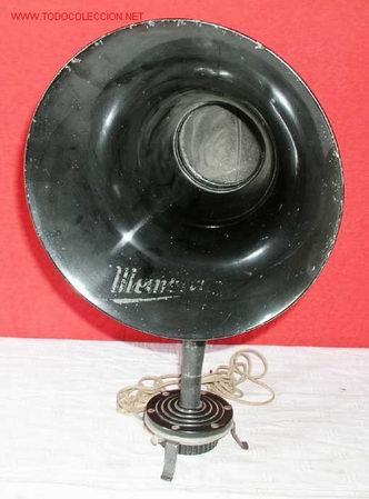 ALTOPARLANTE CUERNO AÑOS 1920 (Radios, Gramófonos, Grabadoras y Otros - Amplificadores y Micrófonos de Válvulas)