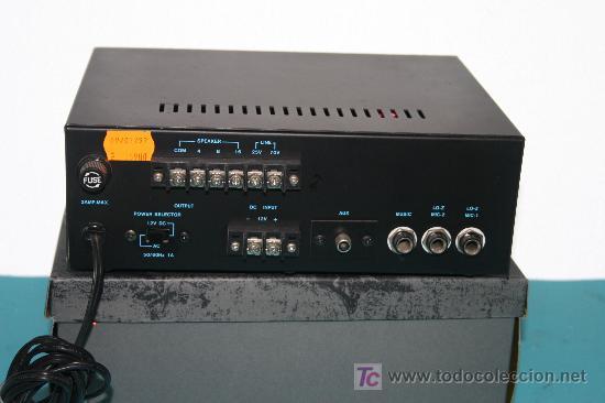 Radios antiguas: AMPLIFICADOR - Foto 2 - 6963316