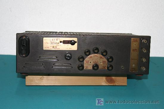 Radios antiguas: AMPLIFICADOR - Foto 2 - 6963509
