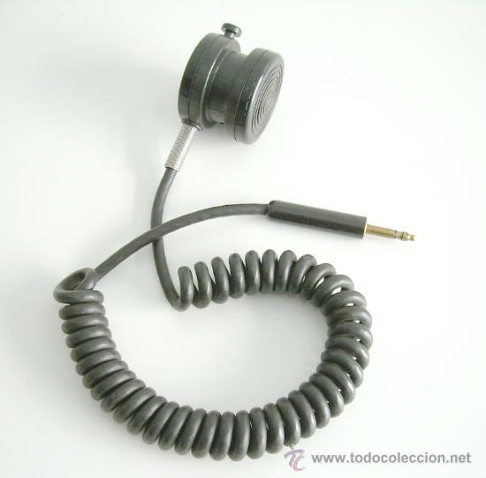 MICROFÓNO DE LOS DE ANTES (Radios, Gramófonos, Grabadoras y Otros - Amplificadores y Micrófonos de Válvulas)