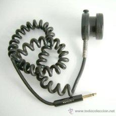 Radios antiguas: MICROFÓNO DE LOS DE ANTES. Lote 27053926
