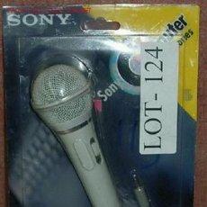 Radios antiguas: MICROFONO SONY. Lote 26958472