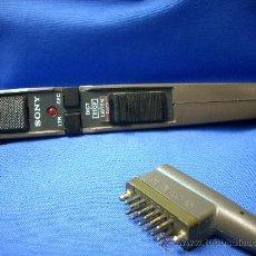Radios antiguas: - MICRÓFONO DE MANO DICTADO TRANSCRIPTOR SONY HU-50. Lote 26128002