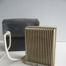 Radios antiguas: MICROFONO ANTIGUO INGRA M101. Lote 27288681