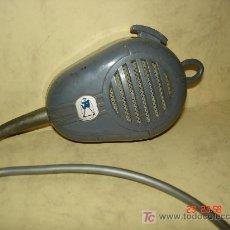 Radios antiguas: MICROFONO CON INTERRUPTOR Y PARA COLGAR. Lote 27599825