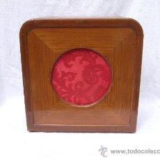 Radios antiguas: ANTIGUO ALTOPARLANTE DE MADERA. Lote 19261301