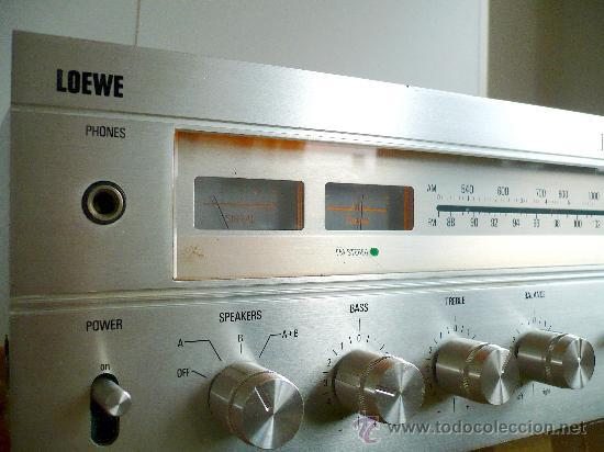 LOEWE HIFI SOUND PROJECT TA 6000 AMPLIFICADOR-TUNER SUPER CALIDAD - VERDADERO HI-END VINTAGE (Radios, Gramófonos, Grabadoras y Otros - Amplificadores y Micrófonos de Válvulas)