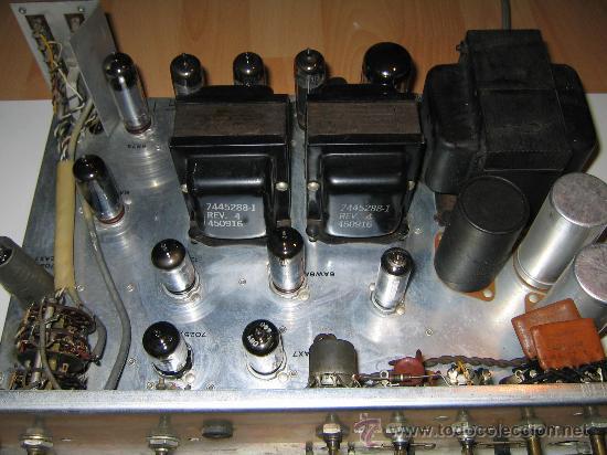 AMPLIFICADOR VALVULAS 56 WATT HI-FI VINTAGE MADE IN USA -GENERAL ELECTRIC STEREO CLASIC 7700- (Radios, Gramófonos, Grabadoras y Otros - Amplificadores y Micrófonos de Válvulas)