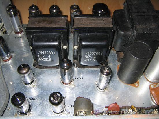Radios antiguas: Amplificador VALVULAS 56 WATT Hi-Fi vintage MADE IN USA -GENERAL ELECTRIC STEREO CLASIC 7700- - Foto 2 - 22859712