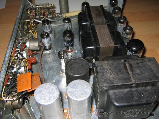 Radios antiguas: Amplificador VALVULAS 56 WATT Hi-Fi vintage MADE IN USA -GENERAL ELECTRIC STEREO CLASIC 7700- - Foto 3 - 22859712