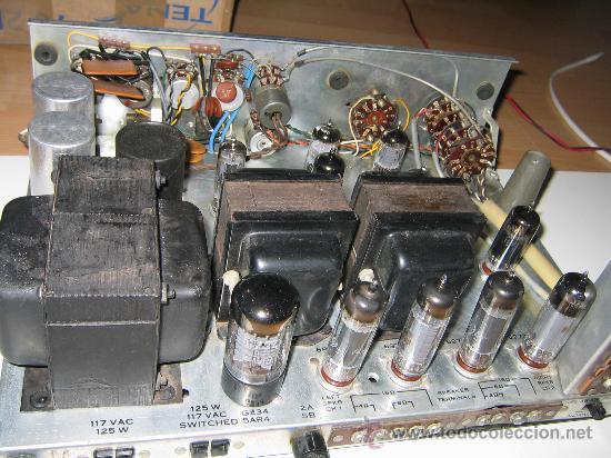 Radios antiguas: Amplificador VALVULAS 56 WATT Hi-Fi vintage MADE IN USA -GENERAL ELECTRIC STEREO CLASIC 7700- - Foto 4 - 22859712
