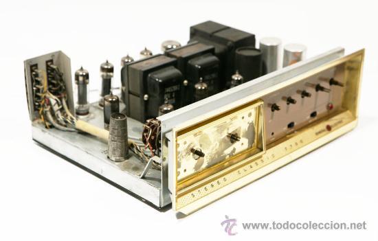 Radios antiguas: Amplificador VALVULAS 56 WATT Hi-Fi vintage MADE IN USA -GENERAL ELECTRIC STEREO CLASIC 7700- - Foto 10 - 22859712