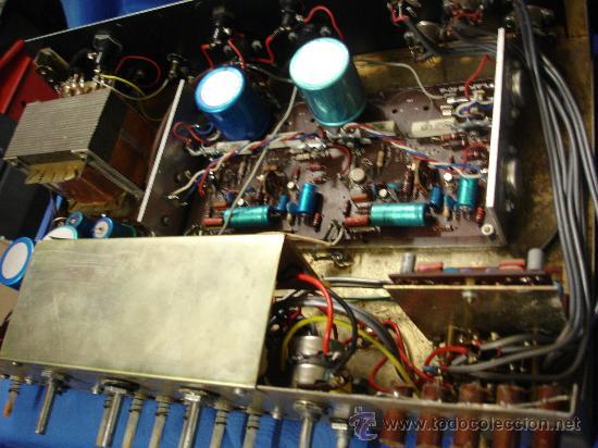 Radios antiguas: AMPLIFICADOR CON RADIO CAUSINSA - AÑOS 60 - FUNCIONA - Foto 2 - 26610769
