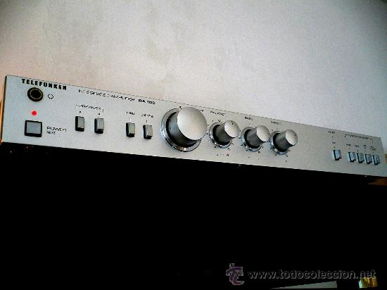 Radios antiguas: TELEFUNKEN RA-100 HI-END VINTAGE INTEGRATED AMPLIFIER - Foto 1 - 24818563