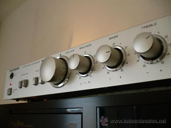 Radios antiguas: TELEFUNKEN RA-100 HI-END VINTAGE INTEGRATED AMPLIFIER - Foto 2 - 24818563
