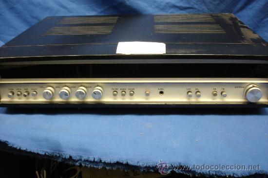 AMPLIFICADOR CON RADIO CAUSINSA - AÑOS 60 - FUNCIONA (Radios, Gramófonos, Grabadoras y Otros - Amplificadores y Micrófonos de Válvulas)