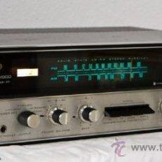 Radios antiguas: KENWOOD KR-77 POTENTE AMPLIFICADOR-RECEPTOR VINTAGE 1970 50-90 WAT.. Lote 25150516
