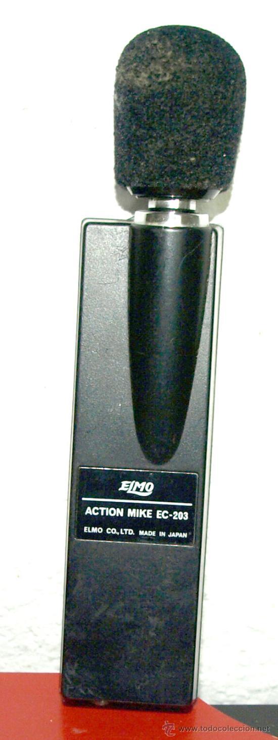 MICROFONO ELMO (Radios, Gramófonos, Grabadoras y Otros - Amplificadores y Micrófonos de Válvulas)