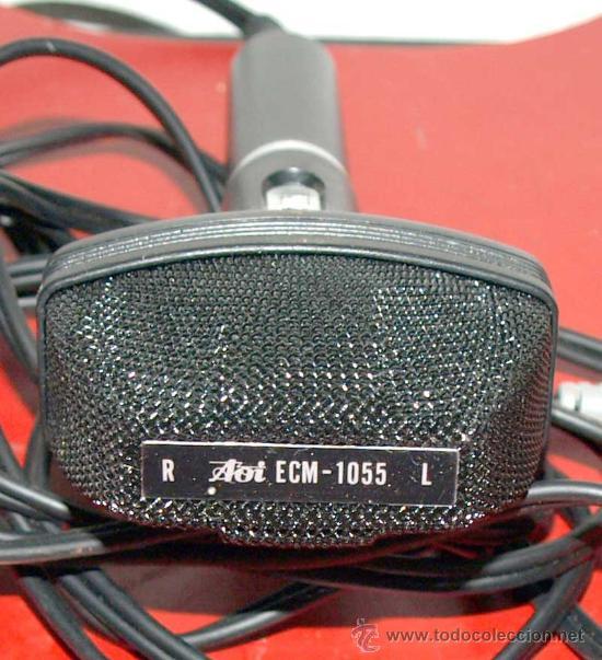 Radios antiguas: MICROFONO AOI - Foto 2 - 27647235