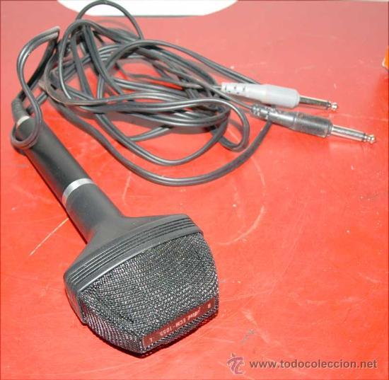 Radios antiguas: MICROFONO AOI - Foto 3 - 27647235