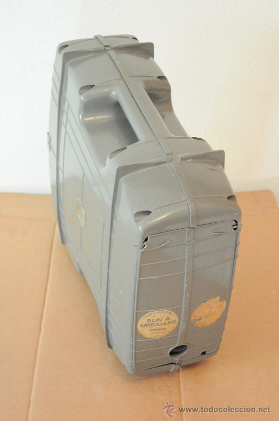 Radios antiguas: MEGAFONO AMPLIFICADOR A PILAS CON MICROFONO - Foto 6 - 28446730