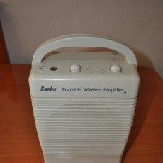 Radios antiguas: AMPLIFICADOR PORTATIL INALAMBRICO, SANHA. Lote 28631829