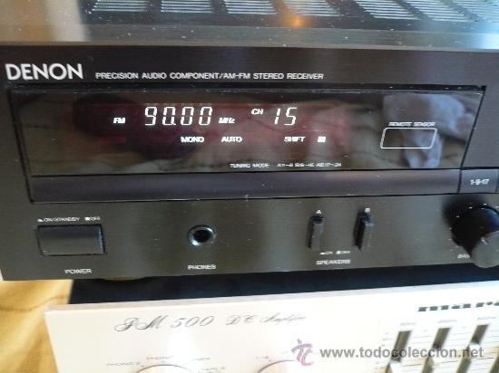 DENON HI-END AMPLIFICADOR - RECEIVER -- (Radios, Gramófonos, Grabadoras y Otros - Amplificadores y Micrófonos de Válvulas)