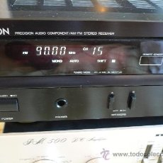 Radios antiguas: DENON HI-END AMPLIFICADOR - RECEIVER --. Lote 30440302