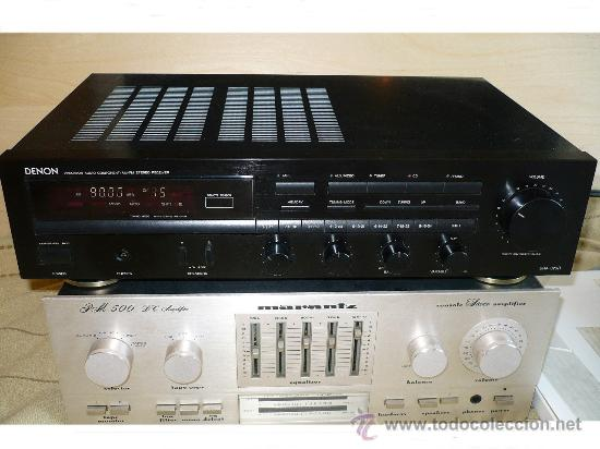 Radios antiguas: DENON HI-END AMPLIFICADOR - RECEIVER -- - Foto 2 - 30440302