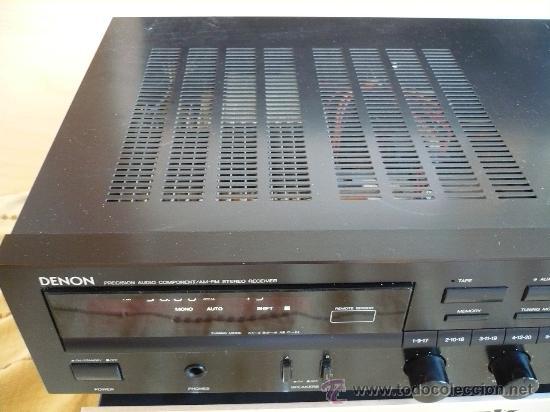Radios antiguas: DENON HI-END AMPLIFICADOR - RECEIVER -- - Foto 3 - 30440302