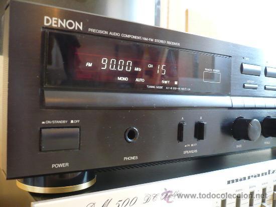 Radios antiguas: DENON HI-END AMPLIFICADOR - RECEIVER -- - Foto 4 - 30440302