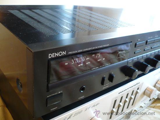 Radios antiguas: DENON HI-END AMPLIFICADOR - RECEIVER -- - Foto 10 - 30440302