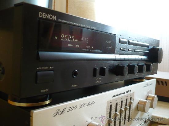 Radios antiguas: DENON HI-END AMPLIFICADOR - RECEIVER -- - Foto 11 - 30440302