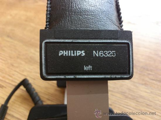 Radios antiguas: Magnificos Auricularesde alta fidelidad vintage Philips Electret N6325 - Foto 4 - 33403338
