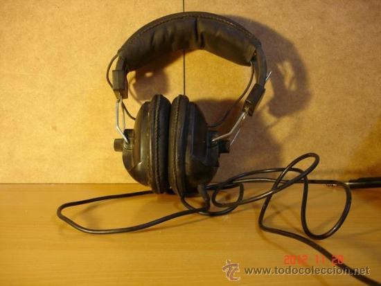 AURICULARES PLAYTON FR-904 AÑOS 70 - A REPARAR (Radios, Gramófonos, Grabadoras y Otros - Amplificadores y Micrófonos de Válvulas)