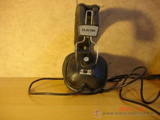 Radios antiguas: Auriculares Playton FR-904 Años 70 - A reparar - Foto 3 - 153650773