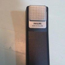 Radios antiguas: MICRÓFONO PHILIPS PARA MAGNETOFÓN AÑOS:70-FUNCIONANDO.. Lote 34868353