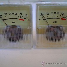 Radios antiguas: VU METROS VINTAGE (AÑOS 70) PARA PHILIPS MARANTZ TECHNICS REVOX AKAI SONY GRUNDIG STUDER -A ESTRENAR. Lote 35888684