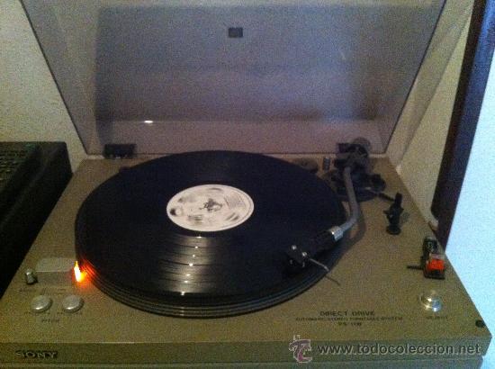 Radios antiguas: tocadiscos de los años 70 sony - Foto 5 - 35955448