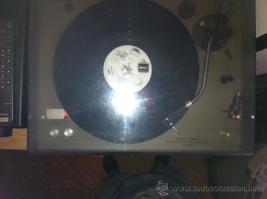 Radios antiguas: tocadiscos de los años 70 sony - Foto 6 - 35955448