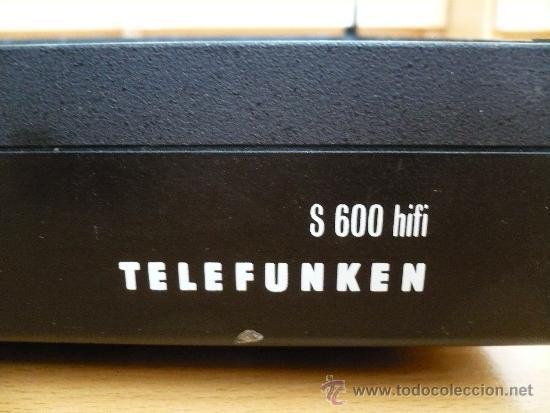 TELEFUNKEN S 600 HI FI PLINT (Radios, Gramófonos, Grabadoras y Otros - Amplificadores y Micrófonos de Válvulas)