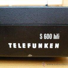 Radios antiguas: TELEFUNKEN S 600 HI FI PLINT. Lote 36741583