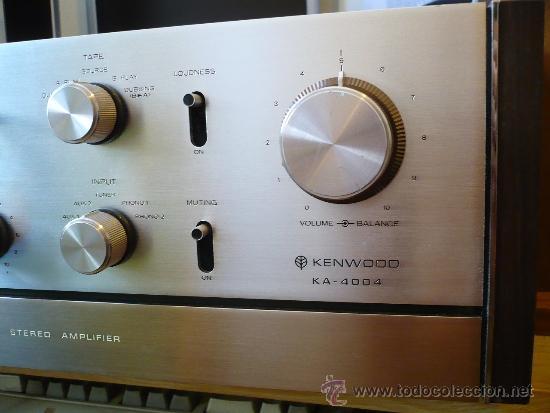 Kenwood ka - 4004 legendario amplificador top - Sold through Direct