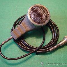 Radios antiguas: ANTIGUO MICROFONO DE MANO MAGNETICO BAJA IMPEDANCIA....SANNA. Lote 38403349