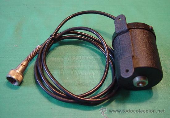 Radios antiguas: Antiguo Microfono de mano magnetico baja impedancia....sanna - Foto 2 - 38403349