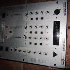 Radios antiguas: ANTIGUO AMPLIFICADOR PRO MIXER DX 500. Lote 40327822