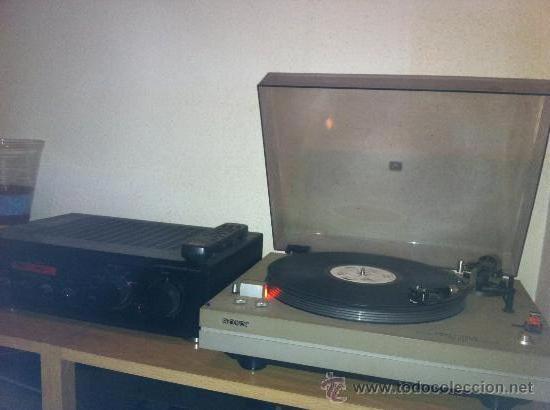 TOCADISCOS DE LOS AÑOS 70 SONY (Radios, Gramófonos, Grabadoras y Otros - Amplificadores y Micrófonos de Válvulas)