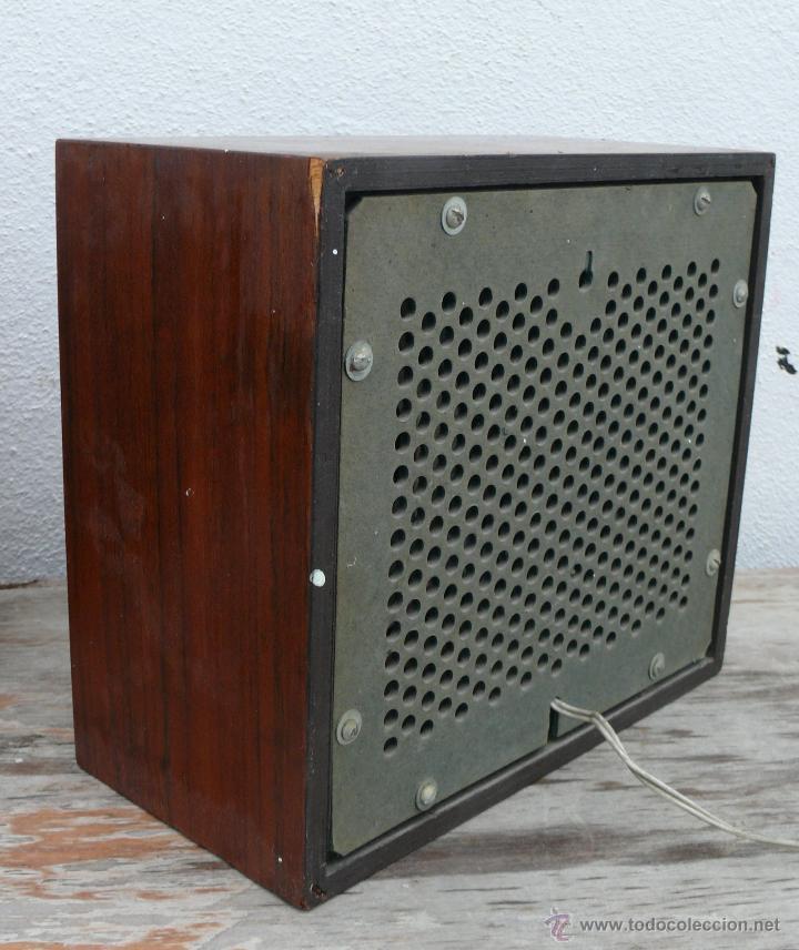 Radios antiguas: LOTE ALTAVOCES MADERA ANTIGUOS PHILIPS IDEAL ACOMPAÑAR RADIO ANTIGUA Y DECORACION VINTAGE - Foto 3 - 112532412