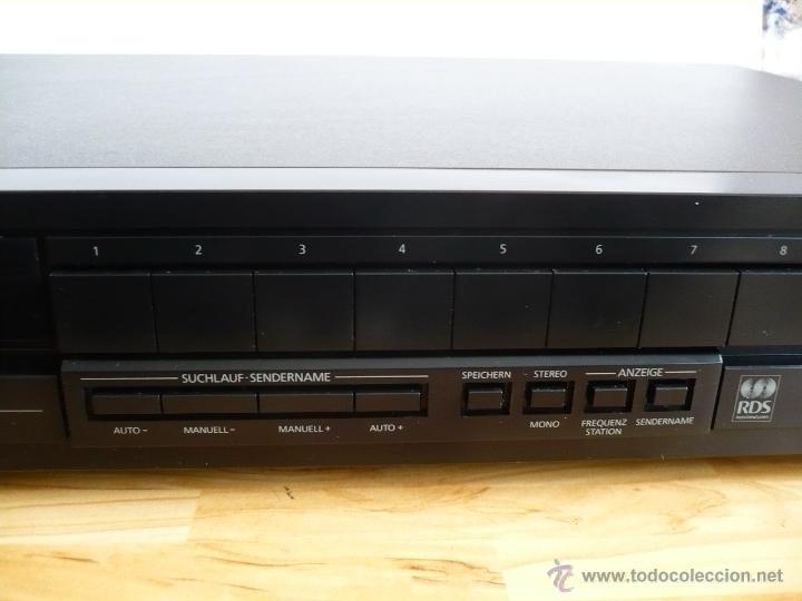 Radios antiguas: TELEFUNKEN HT 780 RDS HI-FI TUNER / SINTONIZADOR / RADIO - 30 MEMORIAS - Foto 4 - 41469999